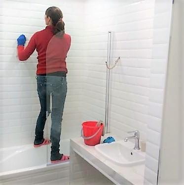 генеральная уборка ванной